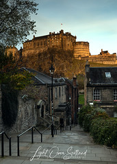 "First Light Over Edinburgh Castle • <a style=""font-size:0.8em;"" href=""http://www.flickr.com/photos/65332699@N08/45711695461/"" target=""_blank"">View on Flickr</a>"