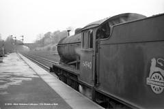 c.1956 - Hessle, East Yorkshire. (53A Models) Tags: britishrailways gresley lner j39 060 64940 steam freight hessle hull eastyorkshire train railway locomotive railroad