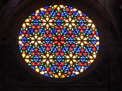 Palma Cathedral Rose Window (Mr Clive) Tags: spain palma majorca cathedral rosewindow stainedglass