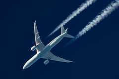 Air Canada Boeing 787-900 C-FRSA (Thames Air) Tags: air canada boeing 787900 cfrsa contrail telescope dobsonian contrails overhead vapour trail