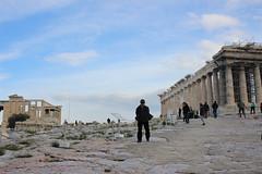 Acropolis (pray4creativity) Tags: acropolis portrait sky blue cielo azul partenon parthenon ruins runas greece athens