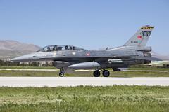91-0022_F-16DFightingFalcon_TurkishAF_KYA_Img02 (Tony Osborne - Rotorfocus) Tags: nato tiger meet konya turkey general dynamics tai lockheed martin f16 f16d fighting falcon viper turkish air force 192 filo