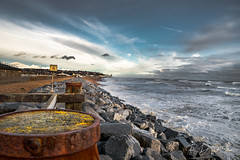 Hastings on a very cold & windy day. Taken almost a year ago.  #Hastings #Eastsussex #photography #photographer #landscapephotography #cold #windy #sussex #seascape #seafront #sky #clouds #rocks (Richard French Photography) Tags: sky eastsussex hastings cold clouds windy seafront sussex seascape landscapephotography rocks photographer photography