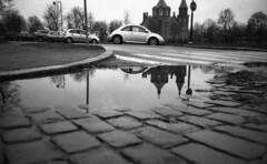 VW (Foide) Tags: reflection vw street church