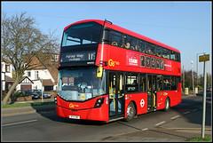 WHV53, West Wickham (Jason 87030) Tags: bolvo 119 colonnades purleyway westwickham addingtonroad doubledecker london bus go ahead metrobus january 2019 transport wv553 canon wheels uk england latest new publictransport transportation