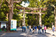 Entrance to Meiji Shrine