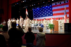 Troop A Assembled (Georgia National Guard) Tags: 48thibct deployment deploymentceremony canton polkcounty northgeorgia communitysupport cavalry armynationalguard nationalguard citizensoldiers afghanistan