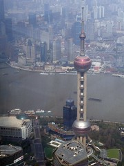 Shanghai from above as seen from the Shanghai Tower (SpirosK photography) Tags: shanghai china κίνα σανγκάη city urban middlekingdom pudong economiccenter cityscape fromabove shanghaitower skyscraper skyscrapers