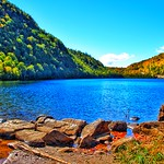 Lake Placid New York  ~ Beautiful Day  over Saranac River - thumbnail