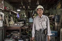Civil Engineer in Pakokku, Myanmar (Daddi Andrea) Tags: myanmar burma burmese birmania asia southeastasia asian asean travel street streetphotography tourism portrait people