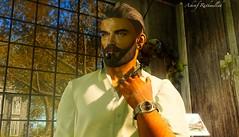 No697 (ashraf rathmullah) Tags: man love beard smoke pipe watch eues hair snow