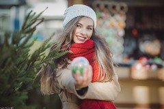Irina (Vagelis Pikoulas) Tags: portrait beautiful beauty girl woman women canon 6d sigma art f14 bokeh prime bucharest romania travel photography photoshoot winter december 2018