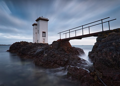 Carriage Fhada Light (captures.in.time) Tags: lighthouse light sea seascape landscape highlands islands islay argyleandbute water rock electricity 10stop canon 6d landscapephotography ngm ngc