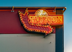 Tap Room Sign at Lagunitas Brewing Company (Thanks for 2 million views) Tags: lagunitas tap neon brewing sign sonoma