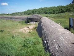 Mur antichar d'Oye-Plage