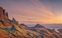 Quiraing Alight (Captain Nikon) Tags: quiraing isleofskye skye scottishhighlands scotland uk greatbritain iconic trotternishridge landscapephotography nikon sunrise winter