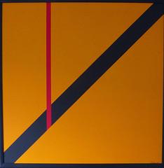 Y-GELB  1983 (HolgerArt) Tags: konstruktivismus erstlingswerk gemälde painting art kunst malerei acryl farben abstrakt modern grafisch konstruktiv