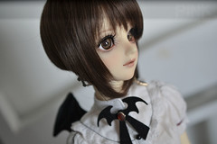 Devil Kumi (lekatto.popuri) Tags: doll bjd volks volksdoll sdgr girl creamy mami portrait ball jointed super dollfie