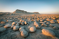 Bulbus Field and Zin mountain (Sebastian Witkin) Tags: lanscape negevdesert travel zinmountain israel nature roks desert mountain