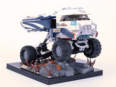 Concept Racing Truck (Corvin Stichert) Tags: lego racing truck caliber 10 mike hill design concept car lorry rally art