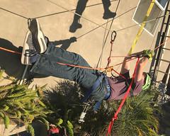 011 Tyrolean Tracking (saschmitz_earthlink_net) Tags: 2018 california southerncaliforniagrotto christmasparty losangelescounty baldwinhills windsorhills party climbing practice