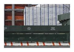 NY#1 (hvb72) Tags: new york ny sony spring orange green blue white construction concrete