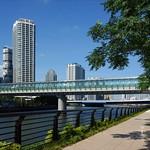 歩道橋の写真
