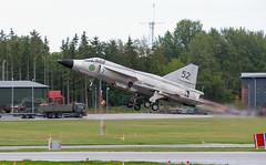 Saab Viggen (Boushh_TFA) Tags: saab viggen sedxn 52 7 swedish air force svenska flygvapnet försvarsmaktens flygdagar 2016 malmen airbase flygplats escf malmslätt linköping sweden nikon d600 nikkor 300mm f28 vrii