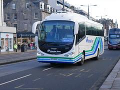 Ulsterbus Scania K360IB4 Irizar i6 SFZ6142 142, in Ulsterbus Tours livery, operating Citylink service 923 to Belfast at Princes Street, Edinburgh, on 9 January 2019. (Robin Dickson 1) Tags: ulsterbus busesedinburgh citylink sfz6142 scaniak360ib4 irizari6