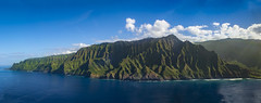 Na Pali by Air 2 (coleleinbach) Tags: napali kauai hawaii mountains sea ocean cliffs landscape