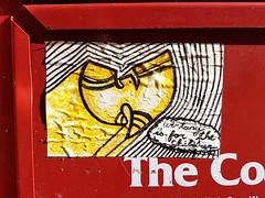 Wu-Tang is for the children (Coastal Elite) Tags: wutangclan children kids wutang sticker dartmouth novascotia canada weekly newspaper box vending machine dispenser holder stickers stickerart stickerbombing halifax hrm hiphop odb oldirtybastard popculture quote grammys grammy music hip hop wu tang clan talk speech bubble logo