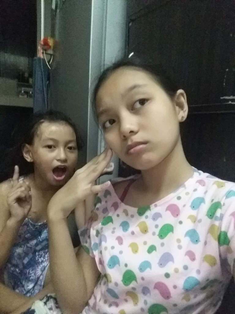 different face expressions (ghostgirl_Annver) Tags: asia asian teen teens  annver ashley sister sisters