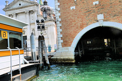 San Giorgio Maggiore Ferry Terminal (edenpictures) Tags: venice venezia italy italia sangiorgiomaggiore churchofsangiorgiomaggiore palladio water church