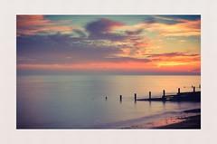 Colours of calm (hall1705) Tags: coloursofcalm sunset dusk sea calmseas seascape beach westsussex d3200