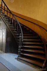 Aufstieg (Sockenhummel) Tags: treppe treppenhaus staircase stairway stairwell stairs architektur architecture escaliers stufen steps