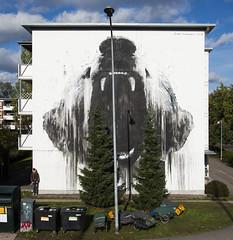 ROAR-00420, mural/street art installation, 2018, Helsinki, Finland