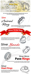 5 Best Silver Ring Styles That You Love (incsilverpalace) Tags: buy silver jewelry wholesale price