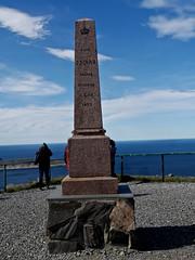 19-Nordkapp--King Oscar II Obelisk (Aussiewig) Tags: norway northcape nordkapp kingoscariiobelisk obelisk arcticocean
