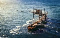 Trabocco punta aderci (SDB79) Tags: punta aderci trabocco abruzzo vasto mare blu paesaggio marino