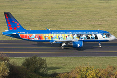 Brussels Airlines A320-214 OO-SND (wapo84) Tags: belgianicons bru ebbr a320 oosnd brusselsairlines aerosmurf belgianicon