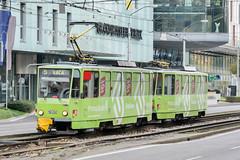 BTS_7905_201811 (Tram Photos) Tags: ckd tatra t6a5 bratislava dopravnýpodnikbratislava dpb strasenbahn tram tramway električková mhd električka vollwerbung ganzreklame