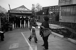 Mayor Bowser Cuts Ribbon on Latest Short-Term Family Housing Program, The Triumph in Ward 8