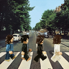 Abbey Road (LegoMatic9) Tags: custom lego the beatles abbey road paul mccartney ringo starr john lennon george harrison rock music minifigures