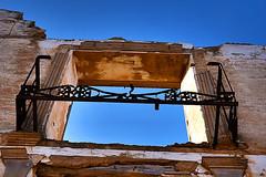 Abandoned town Belchite in Spain (Creativespirit13) Tags: abandoned abandonedplaces spooktown spookie war ruins ghosttown destroyedhouse houseruins