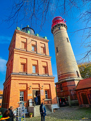 2015_Cap_Arcona_2 (Joachim Spenrath Münster, Germany) Tags: stairs treppe lighthouse balticsea sea baltic sky red white autumn weiss rot herbst himmel blau ostsee rügen leuchtturm