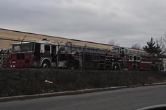 Ex-FDNY Ladder (Triborough) Tags: nj newjersey middlesexcounty eastbrunswick fdny newyorkcityfiredepartment firetruck fireengine ladder ladder705 seagrave tiller tda