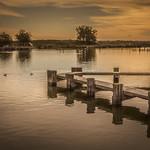 Peaceful Sunrise On Po River thumbnail