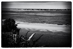 Saint-Valery-Sur-Somme. France. La Baie de Somme.  © Dom Janasz (Dom Janasz) Tags: noiretblanc blackwhite bw baiedesomme pentaxart pentaxlife pentaxlimited artinbw