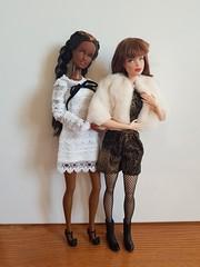 Happy New Year! ❤ (amartpas) Tags: barbie jswdolls ooak celia fanny steffie basics teenskipper teennikki squishtish milagroscambronero barbieintegrity