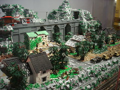 DSC05029 (fdsm0376) Tags: lego exposition madrid 2018 castle roma winter village city ww2